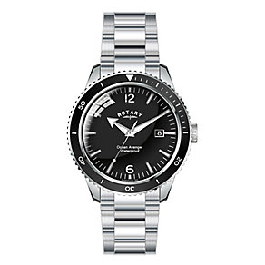 Rotary Men's Ocean Avenger Stainless Steel Bracelet Watch - Product number 2826844
