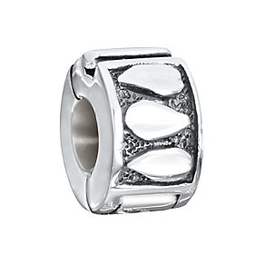 Chamilia Sterling Silver Leaf Freedom Lock Bead - Product number 2826925
