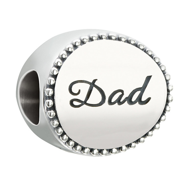Chamilia Sterling Silver Milgrain Dad Bead - Product number 2827018