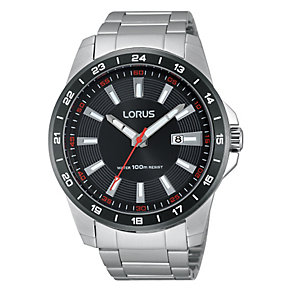 Lorus Men's Titanium & Stainless Steel Bracelet Watch - Product number 2828081