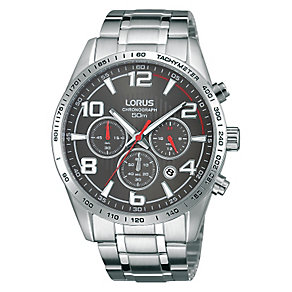 Lorus Men's Chronograph Stainless Steel Bracelet Watch - Product number 2828154