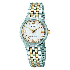 Lorus Ladies' Two Tone Bracelet Watch - Product number 2828316