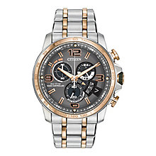 Citizen Eco Drive Men's Stainless Steel Bracelet Watch - Product number 2829568