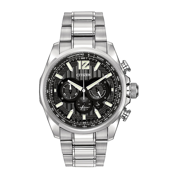Citizen Eco-Drive Men's Stainless Bracelet Watch - Product number 2829657