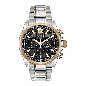 Citizen men's two colour bracelet watch - Product number 2829665