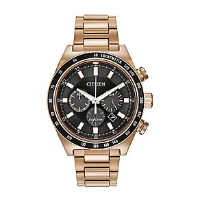 Citizen rose gold-plated bracelet watch - Product number 2829703