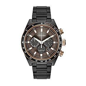 Citizen men's ion-plated bracelet watch - Product number 2829754