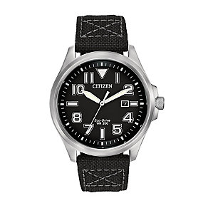 Citizen men's black strap watch - Product number 2829843