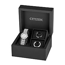 Citizen Eco-Drive Ladies' Stainless Steel Bracelet Watch - Product number 2829894