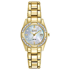 Citizen ladies' gold-plated bracelet watch - Product number 2829908