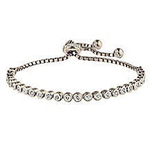 Silver Tennis Bolo Bracelet - Product number 2830205