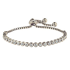 Silver tennis bracelet - Product number 2830205