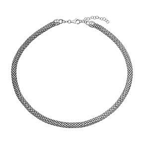 Sterling silver tube necklet - Product number 2830345