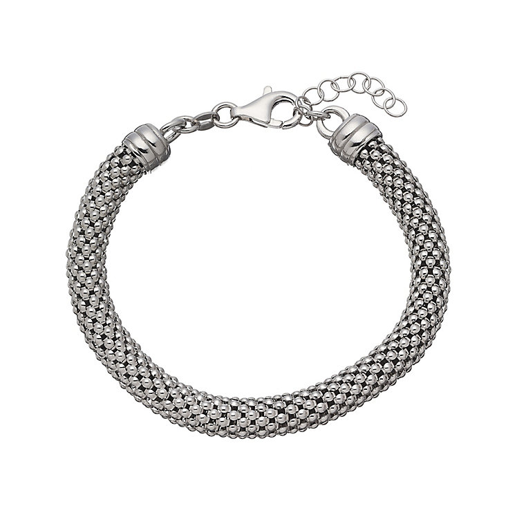Sterling silver tube bracelet - Product number 2830353