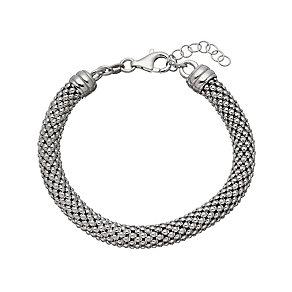 Sterling silver tube bracelet - Product number 2830353