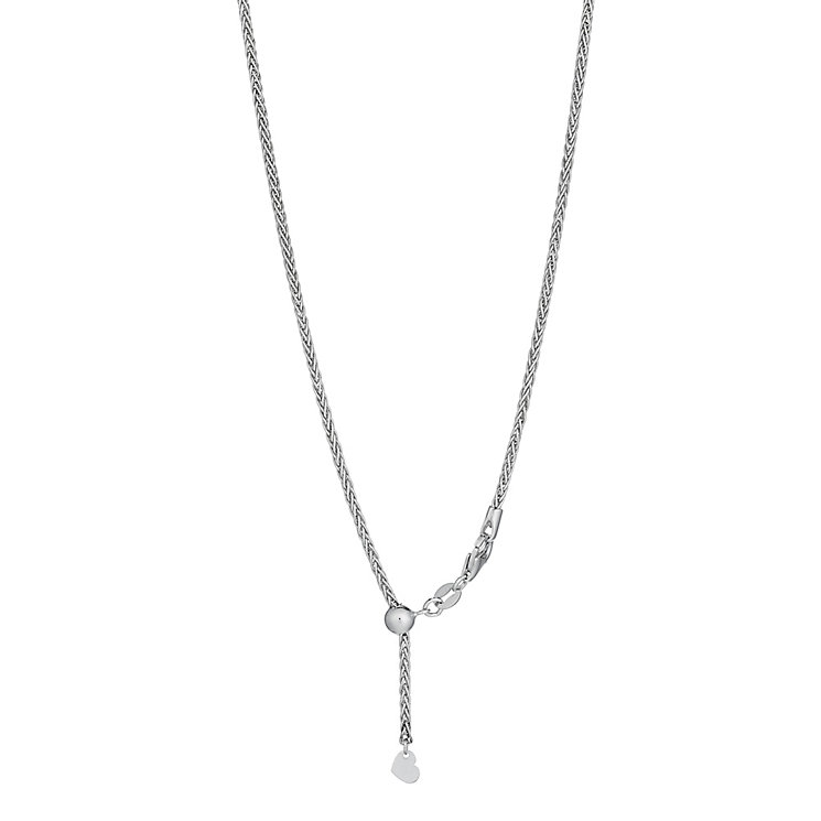 Sterling silver spiga 26 inch chain - Product number 2830388
