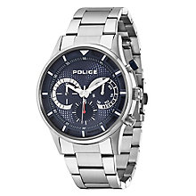 Police Men's Stainless Steel Bracelet Chronograph Watch - Product number 2831872