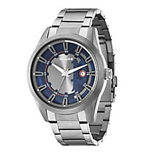 Police Men's  Blue Dial & Stainless Steel Bracelet Strap - Product number 2832143