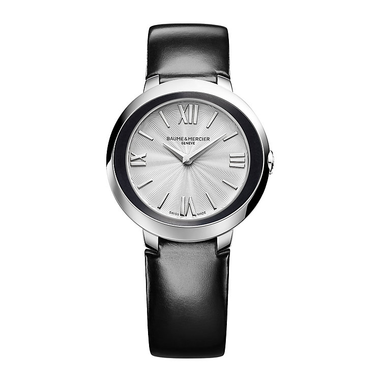 Baume & Mercier Promesse ladies' black strap watch - Product number 2832224