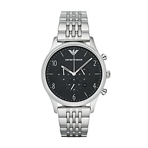 Emporio Armani men's stainless steel bracelet watch. - Product number 2832461
