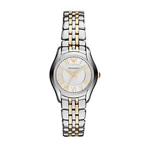 Emporio Armani ladies' two colour bracelet watch - Product number 2832526