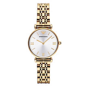 Emporio Armani Ladies' Gold Tone Bracelet Watch - Product number 2832542
