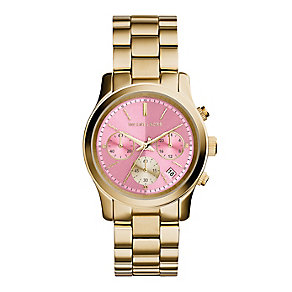 Michael Kors gold plated bracelet watch - Product number 2832593