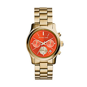 Michael Kors ladies' gold-plated bracelet watch - Product number 2832607