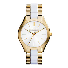 Michael Kors ladies' gold-plated bracelet watch - Product number 2832615