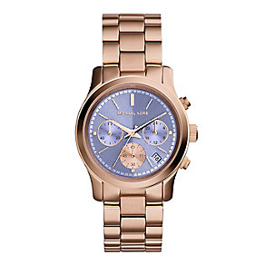 Michael Kors ladies' rose gold-plated bracelet watch - Product number 2832631