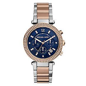 Michael Kors ladies' two colour  bracelet watch - Product number 2832658