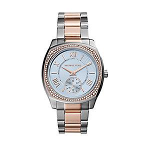 Michael Kors ladies' two colour stone set bracelet watch - Product number 2832720
