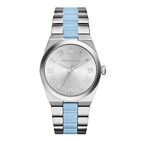 Michael Kors ladies' stainless steel blue bracelet watch - Product number 2832755