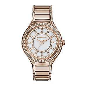 Michael Kors ladies' stone set bracelet watch - Product number 2832798