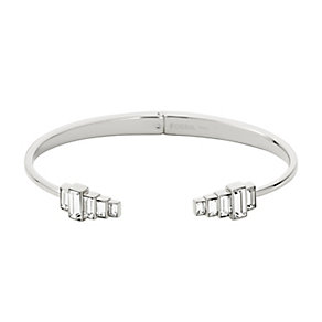 Fossil stainless steel stone set bangle - Product number 2832917