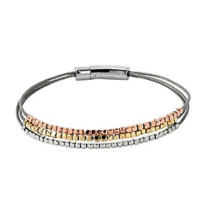 Fossil three colour beaded bracelet - Product number 2832976