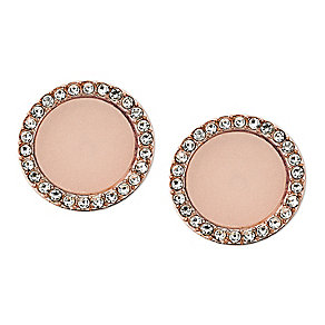 Michael Kors rose gold tone stone set stud earrings - Product number 2833344