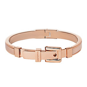 Michael Kors rose gold plated buckle bangle - Product number 2833352