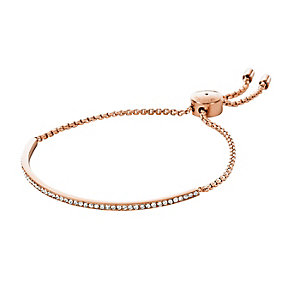 Michael Kors rose gold plated chain bracelet - Product number 2833387