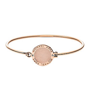 Michael Kors rose gold plated disk bangle - Product number 2833476