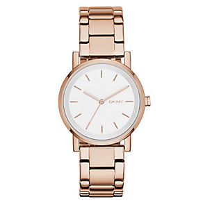 DKNY SoHo Rose Gold Tone Bracelet Watch - Product number 2833816