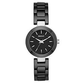 DKNY Stanhope Ladies' Black Ceramic Bracelet Watch - Product number 2833824