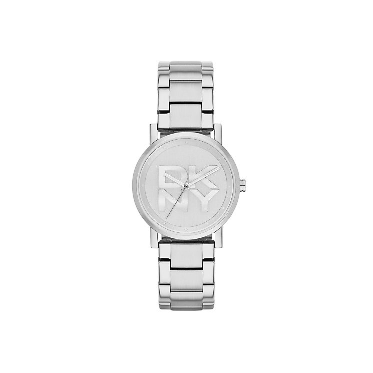 DKNY SoHo Ladies' Silver Tone Bracelet Watch - Product number 2833840