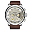 Diesel Mens Stronghold Champagne Dial Brown Strap Watch - Product number 2834030