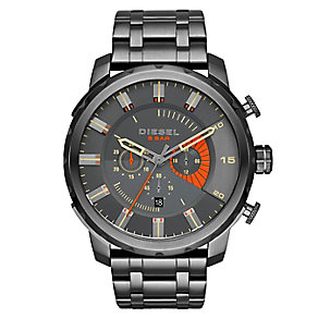 Diesel Men's Stronghold Gunmetal Grey Bracelet Watch - Product number 2834057