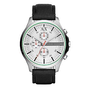 Armani Exchange Men's Smart Black Chronograph Watch - Product number 2834200