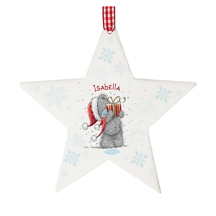 Me To You Wooden Star Shaped Decoration - Product number 2834391