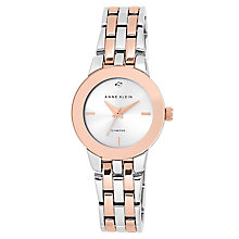 Anne Klein Ladies' Two Tone Diamond Set Bracelet Watch - Product number 2839415