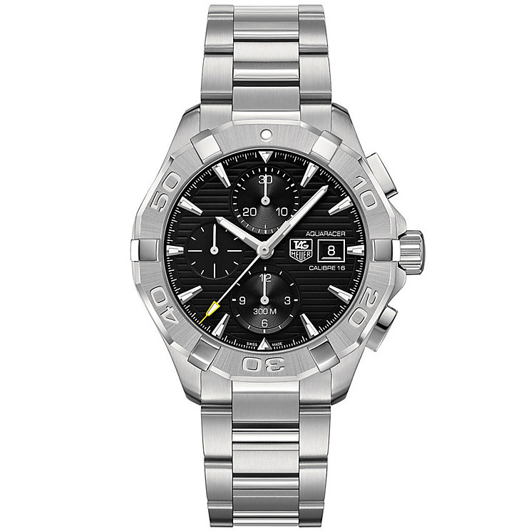 Tag Heuer Aquaracer men's stainless steel bracelet watch - Product number 2840049