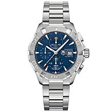 Tag Heuer Aquaracer men's stainless steel bracelet watch - Product number 2840057